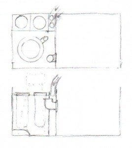 A Reef Tank Sump Initial Drawing