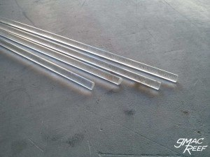Acrylic Rods for Reef Rock