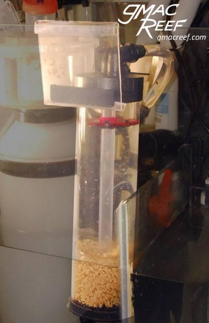 reef reactor sump hanger